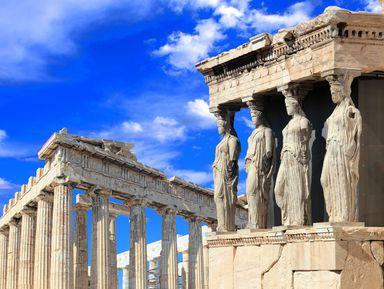 Акрополь: в гости к богине Афине