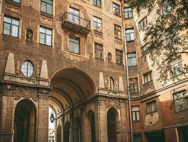 Толстовский дом снаружи и внутри