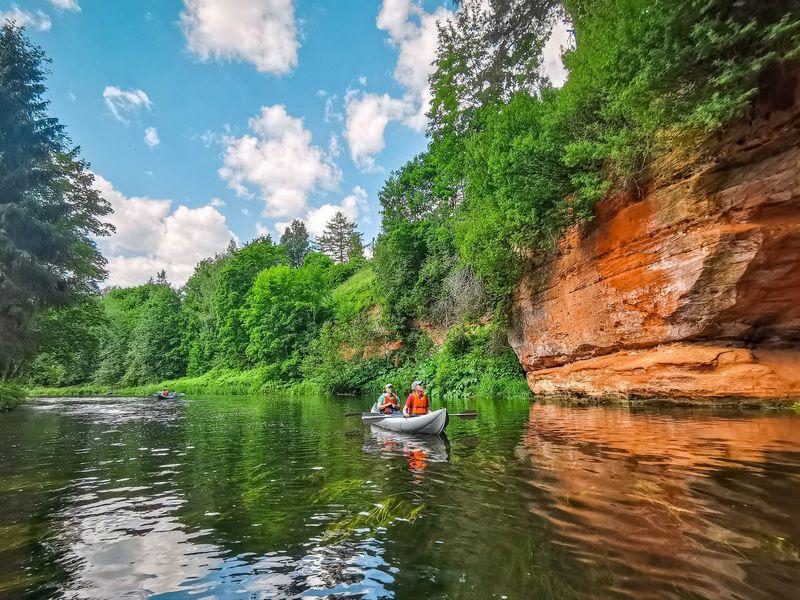 Экскурсия Сплав на байдарках по реке Оредеж