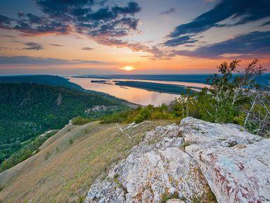 Самарская Лука: влюбиться вволжские панорамы!