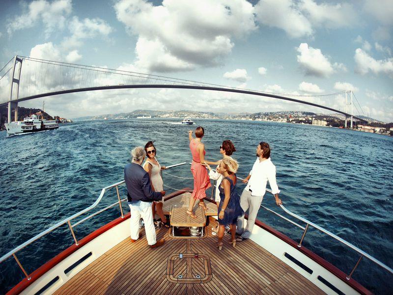 Фото На яхте по волнам Босфора!
