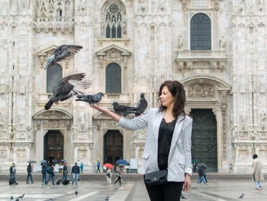 Фотосессия в Милане