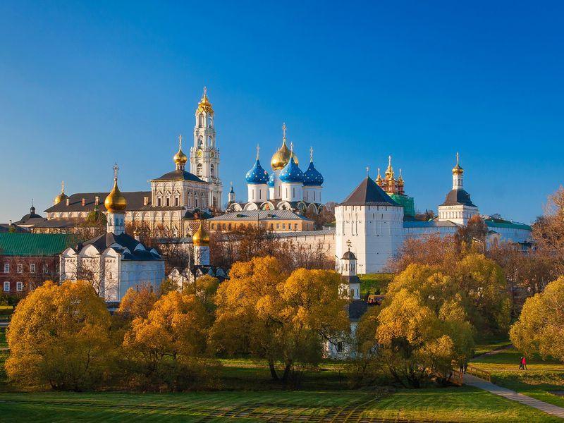 Экскурсия Сергиев Посад: устен святой обители