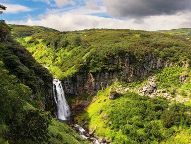 Вилючинский перевал: вулканы, водопады и Малая долина гейзеров!