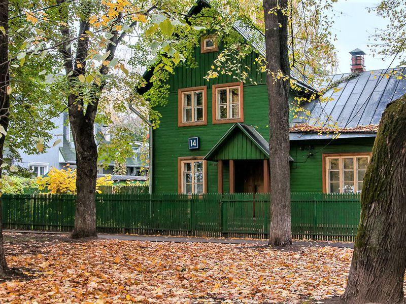 Экскурсия Поселок художников наСоколе: город-сад или сны очем-то большем