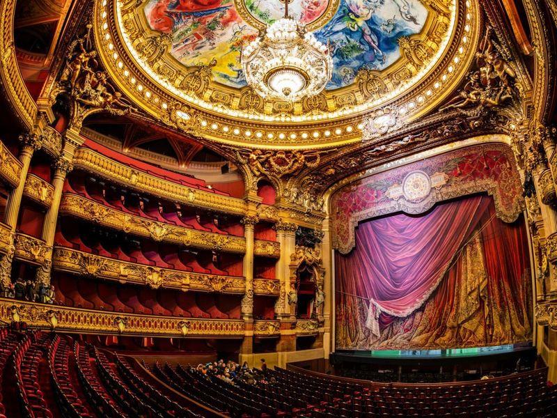 Экскурсия Великолепная Опера Гарнье