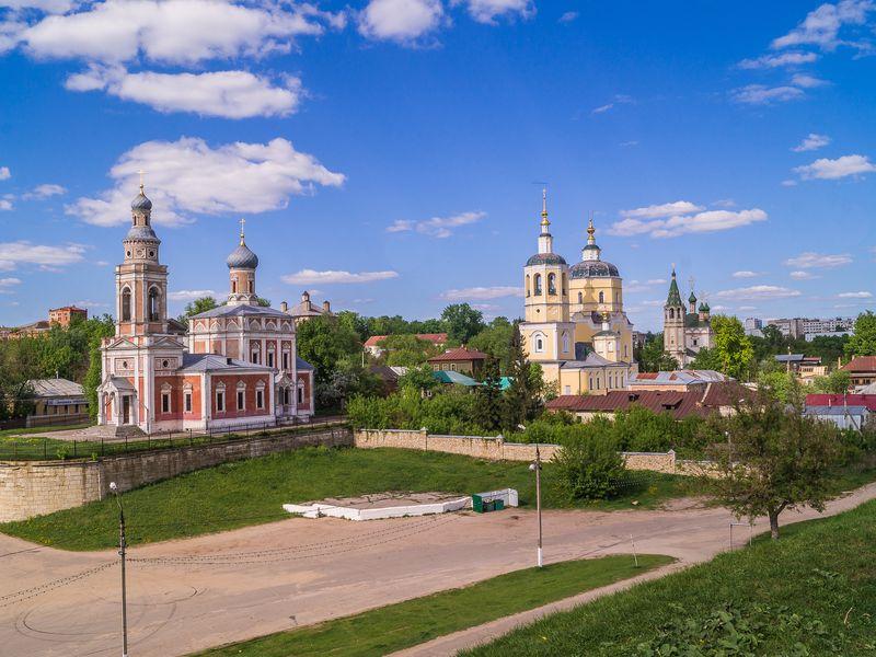 Экскурсия Из Москвы в Серпухов на автомобиле!
