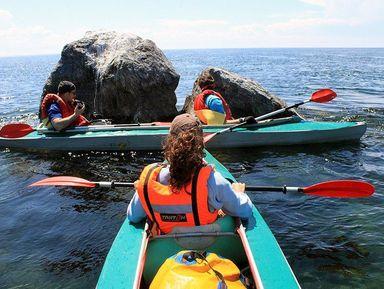 На байдарке по Ангаре и Иркутскому водохранилищу