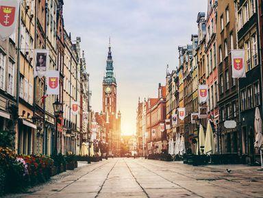 Обзорная прогулка по Гданьску