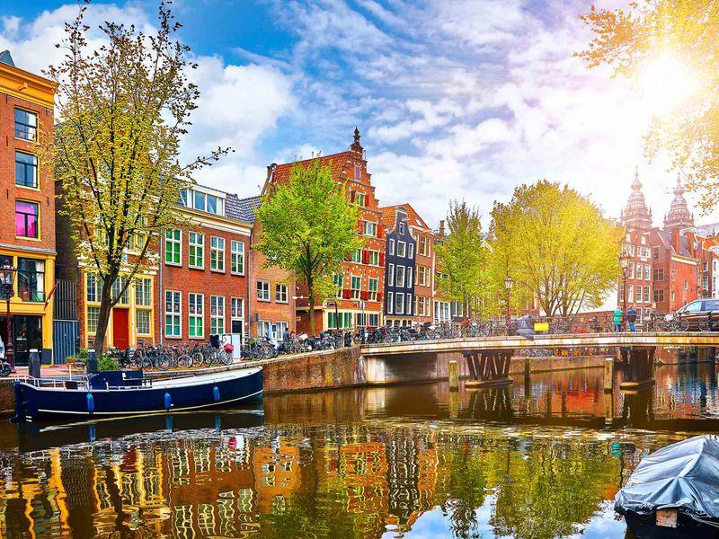 Экскурсия Амстердам— первое свидание