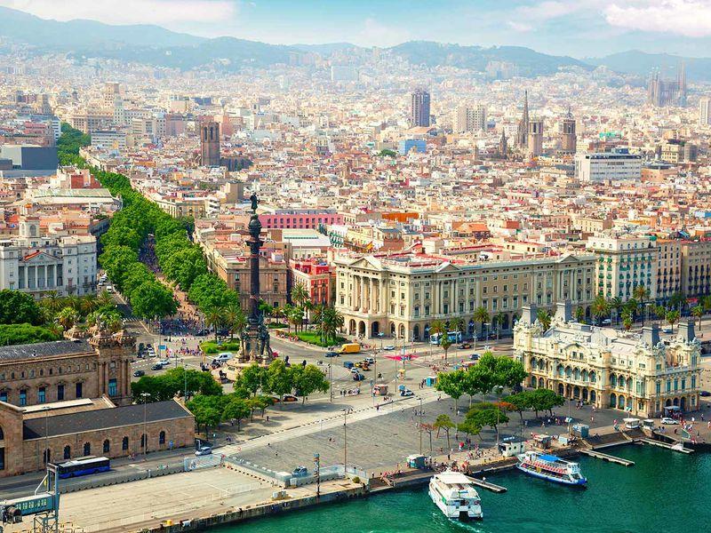 Экскурсия Визитные карточки Барселоны