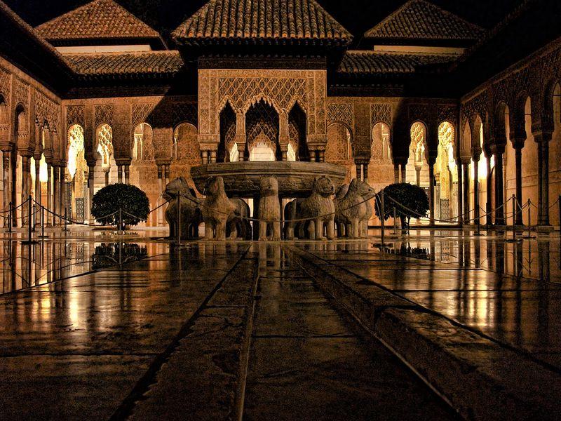 Экскурсия Альгамбра в объятьях ночи