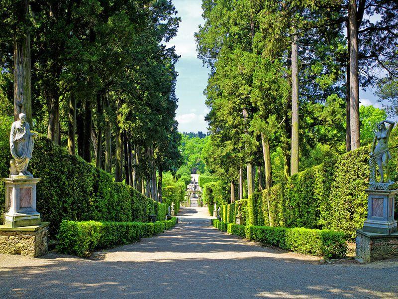 Экскурсия Сады Боболи— шедевр итальянского Ренессанса