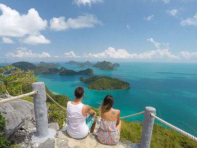 Морской парк Ангтонг— россыпь островов