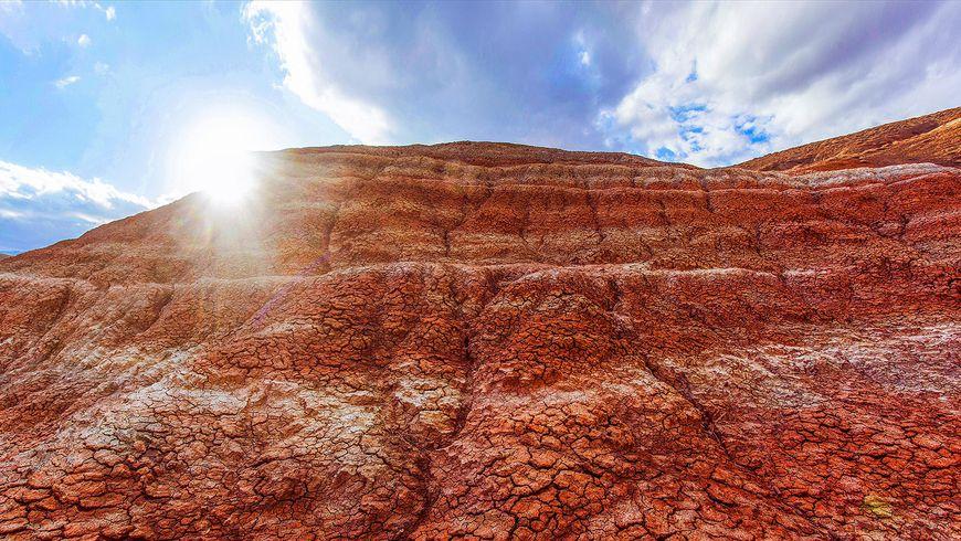 Цветные горы Хызы— путешествие наМарс