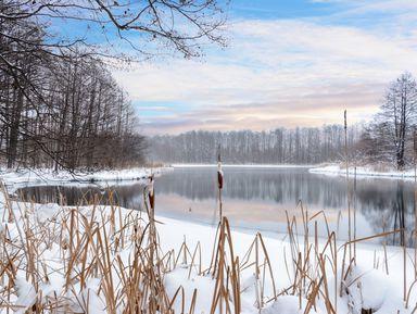 Незамерзающие Голубые озера