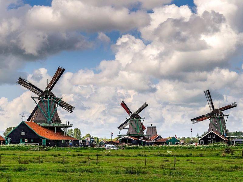 Экскурсия Заансе-Сханс— живая история Нидерландов