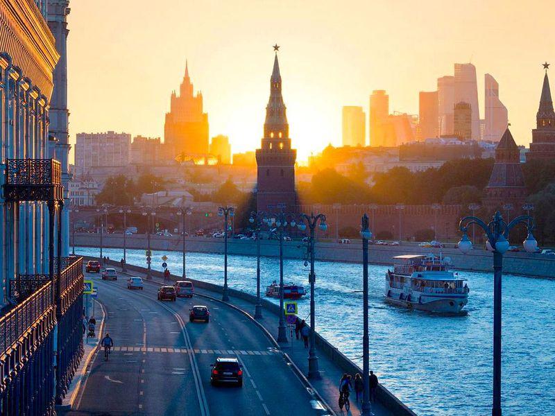 Экскурсия Лучшие виды Кремля— с мостов и набережных