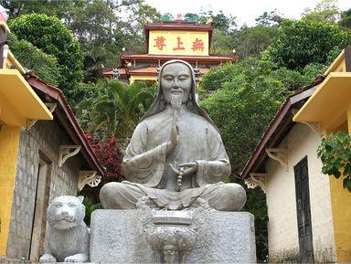 Гора Таку, маяк КеГа иЧамские башни: наследие Биньтхуана