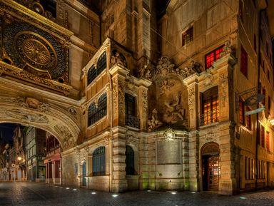 Очароваться вечерним Руаном на прогулке по историческому центру