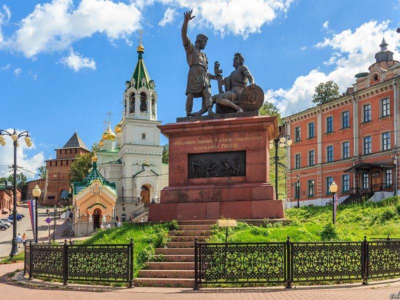 Экскурсия История Нижнего Новгорода за 3 часа на авто