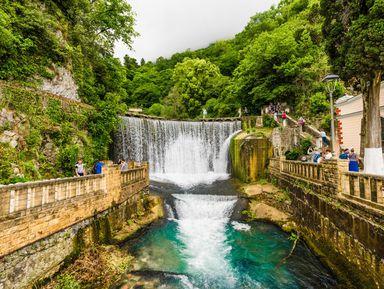 Групповая экскурсия ктермальным источникам Абхазии