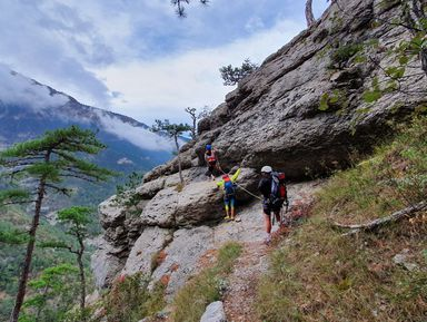 Ставрикайская пещера, водопад Учан-Су и «тропа здоровья»