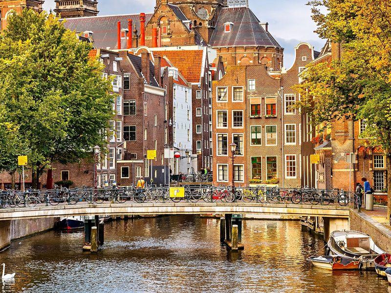 Экскурсия Первый день в Амстердаме!