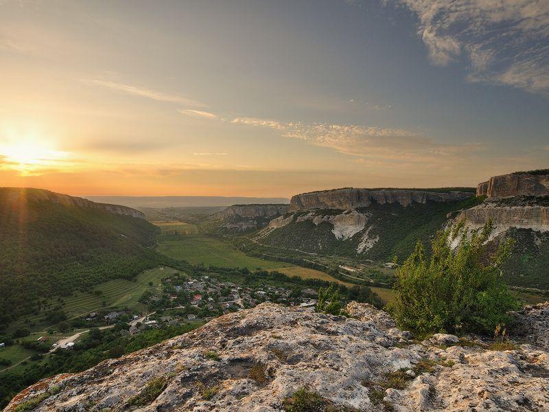 Треккинг по Большому каньону Крыма width=