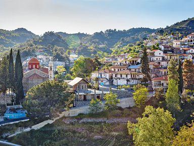По горным деревушкам Кипра