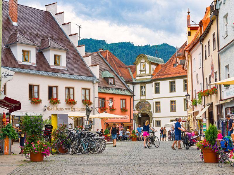 Экскурсия Фюссен — романтическая душа Баварии