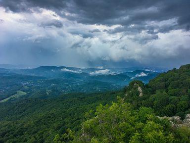 Гора Индюк: треккинг и пейзажи с высоты