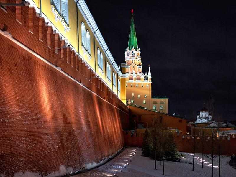 Фото Свидание свечерней Москвой
