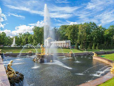 Фото-экскурсия «Петергоф — столица фонтанов»