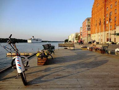 Велопрогулка по островам Стокгольма. Почувствовать себя местным!