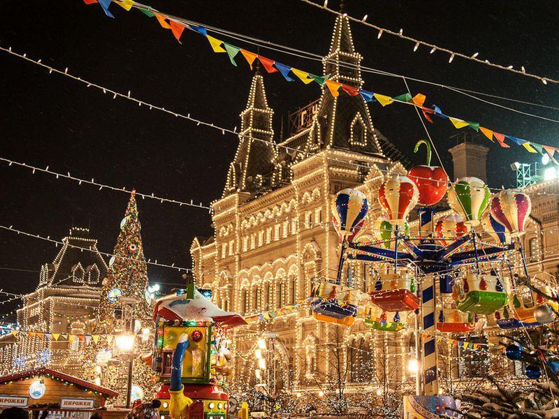 Экскурсия Спасти Новый год: экскурсия-квест попраздничной Москве