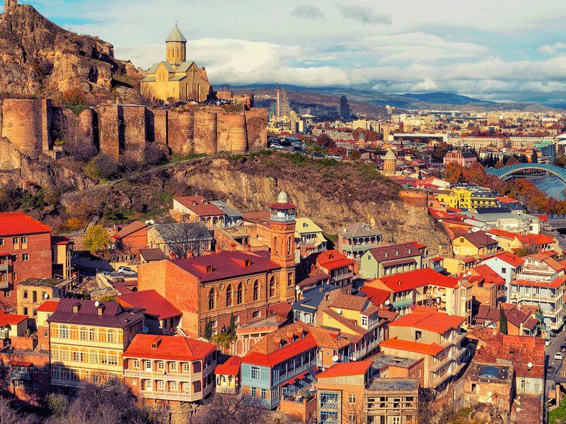 Вглубь столетий Тбилиси width=