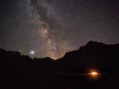 Ночь в отеле 1000 звезд, или поход в горы all inclusive
