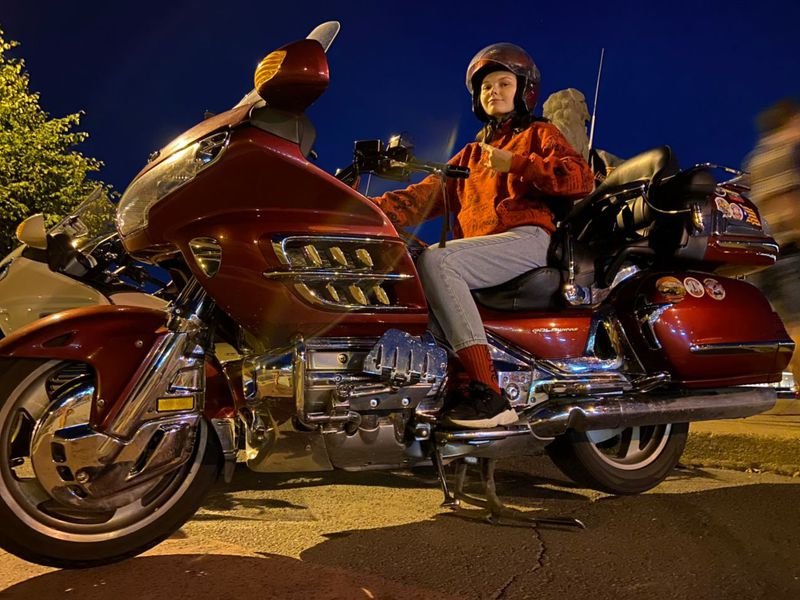 Экскурсия Ночная мото-фото-прогулка по Питеру!