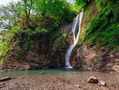 Маршрут здоровья кОреховскому иАжекским водопадам