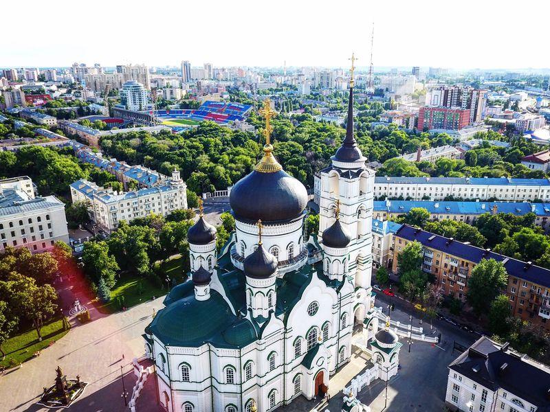 Экскурсия «Нескучный квадрат» Воронежа