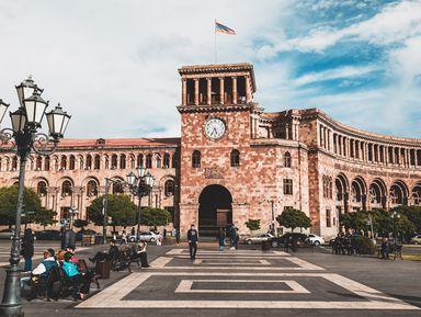 Ежедневная прогулка по Еревану