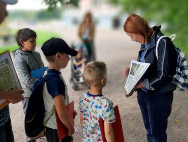 Квест-экскурсия для детей поусадьбе Кусково!