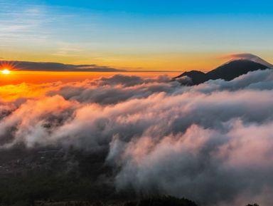Покорить вулкан Батур на джипе