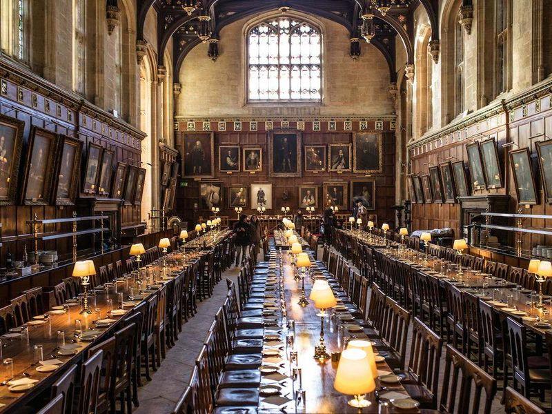 Экскурсия По следам Гарри Поттера в Оксфорде!