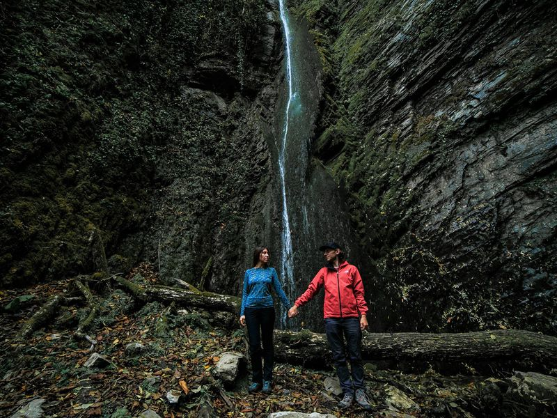 Экскурсия Фотопоход к таинственному водопаду Хрустальный