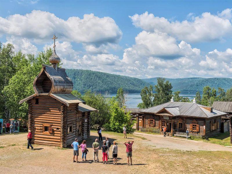 Экскурсия Иркутск — музей Тальцы — поселок Листвянка