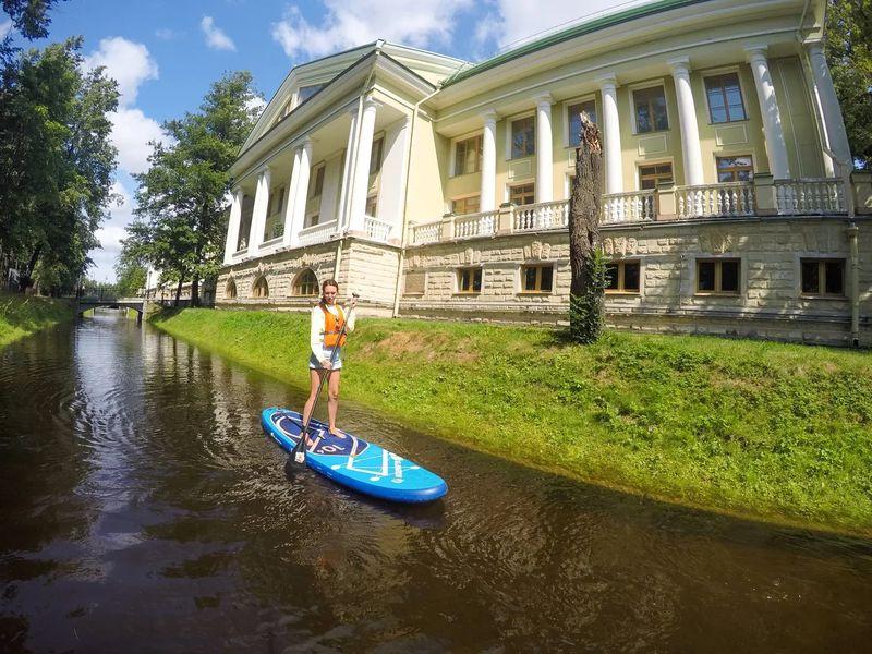 Экскурсия Sup-прогулка к островам Петербурга!