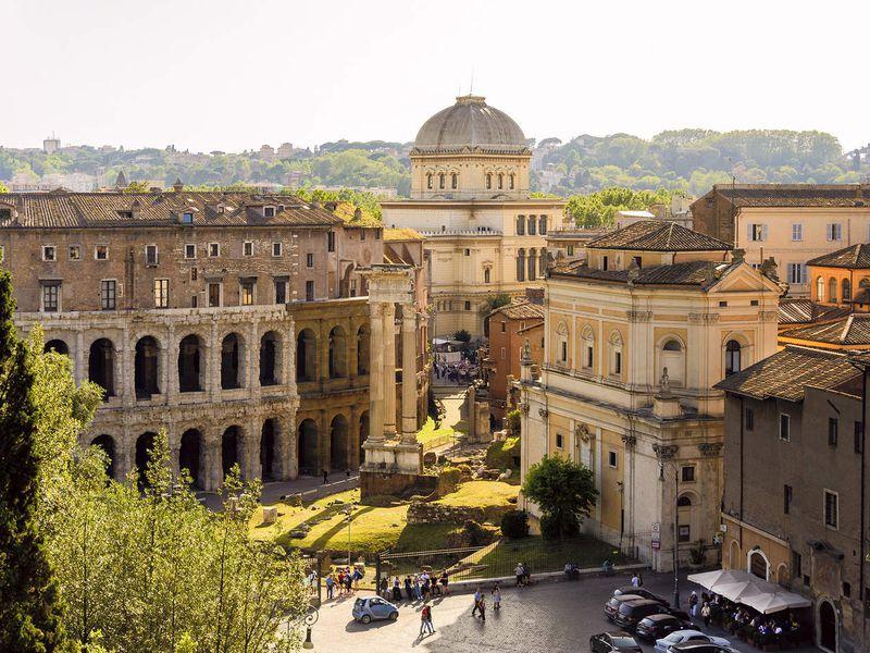 Рим — обзорная прогулка по главным местам и неизведанному гетто