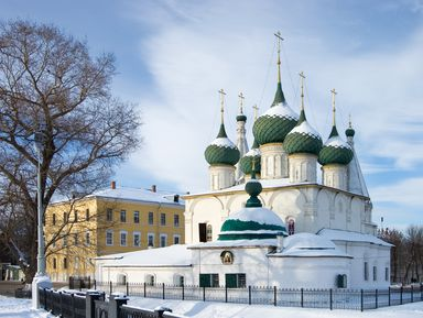 Старые улочки Ярославля